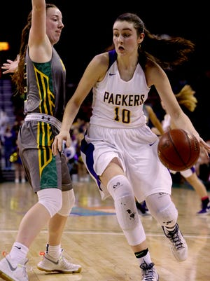 Hannah Kulas and her Cudahy teammates play Milwaukee Pulaski Co-op on Friday.
