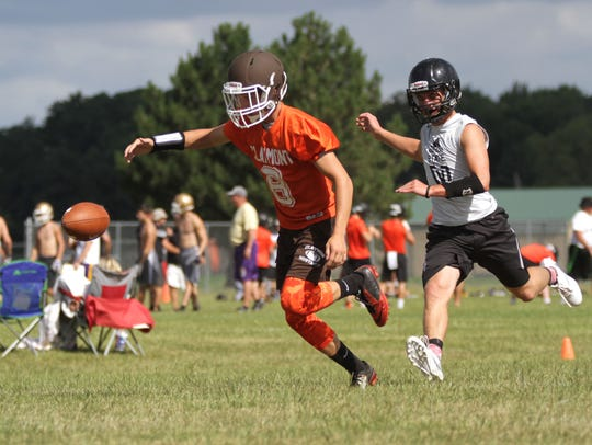 The first 7 on 7 game that Bucyrus played in their
