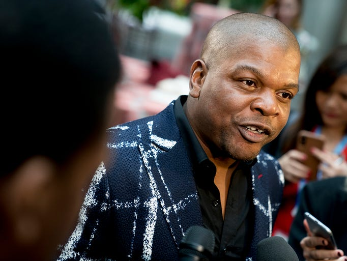 Artist Kehinde Wiley, who painted the official portrait