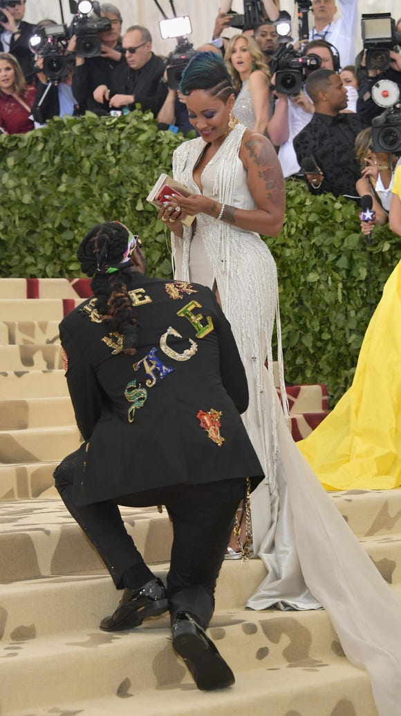 2 Chainz popped the big question to Kesha Ward during