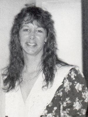 Tina back in her college days, circa 1987.