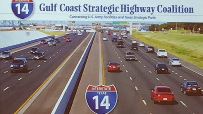 Interstate 14 is a proposed new highway that would stretch from West Texas to the east coast, passing through Central Louisiana.