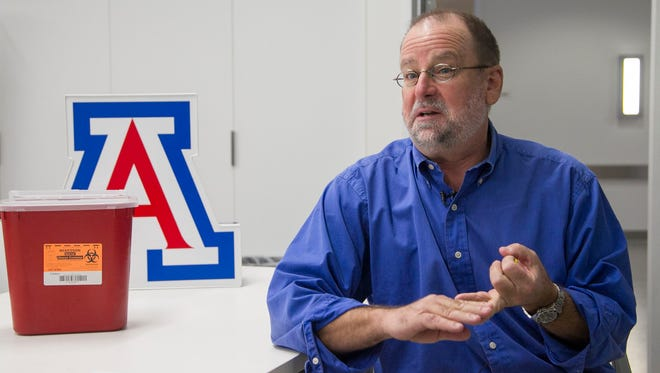 Will Humble, director of the Division of Health Policy & Program Evaluation at the UofA in Phoenix, talks about the upcoming flu season and the efficacy of this year's flu shot on Friday September 25, 2015.