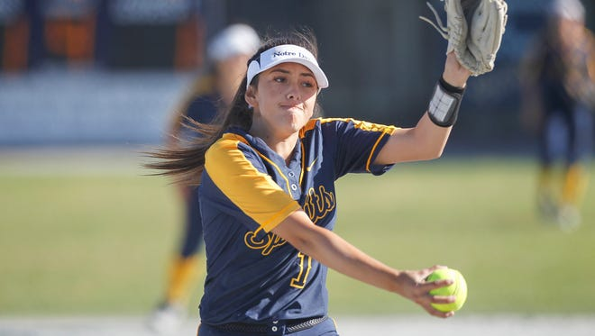 Senior pitcher Vanessa Gonzalez returns for her final year for the Spirits with another CCS title in sight.