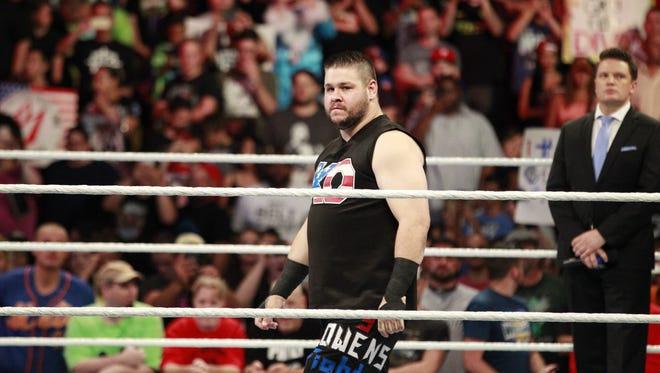 WWE wrestler Kevin Owen.