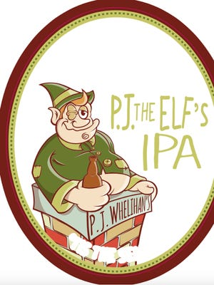 P.J. the Elf is off the shelf and on tap at some P.J.s and all Pour House locations.