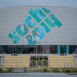 A general view of Ice Cube Curling Center in Olympic Park prior to 2014 Sochi Winter Olympic Games.