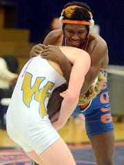 Beech High junior Jherian Maddox was one of 11 Buccaneers to earn berths in the TSSAA State Individual Wrestling Championships, placing third at the Region 7-AAA Tournament last Saturday in the 160-pound weight class.