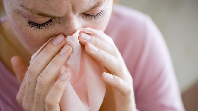 Flu-related hospitalizations are down 95 percent from the same period last year.