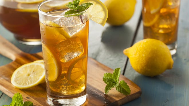 Iced tea is one of the most widely consumed beverages.