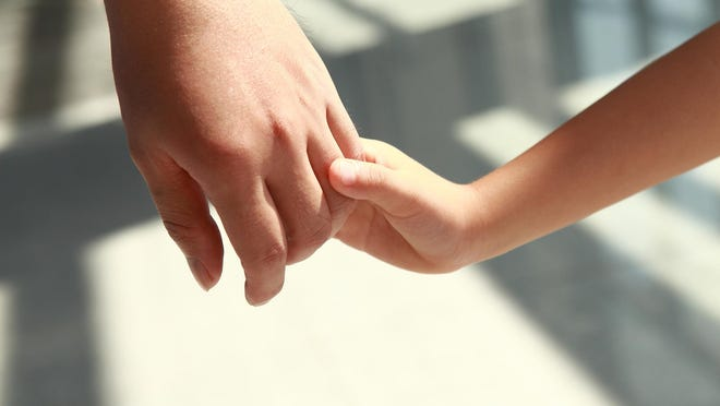 Holding hands helps establish a connection and promote bonding.
