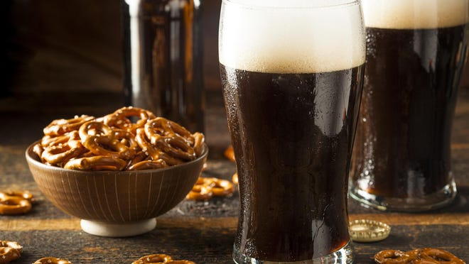 The lush texture of Irish dry stout comes from the nitrogen-rich gas that's used to tap it.