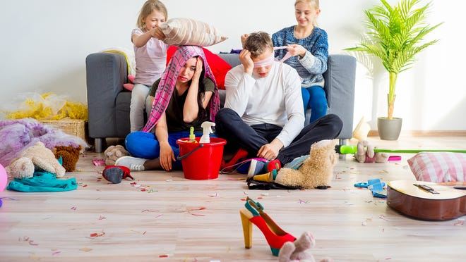 What 'parenting olympics' would look like, if there were such thing Credit: Getty Images