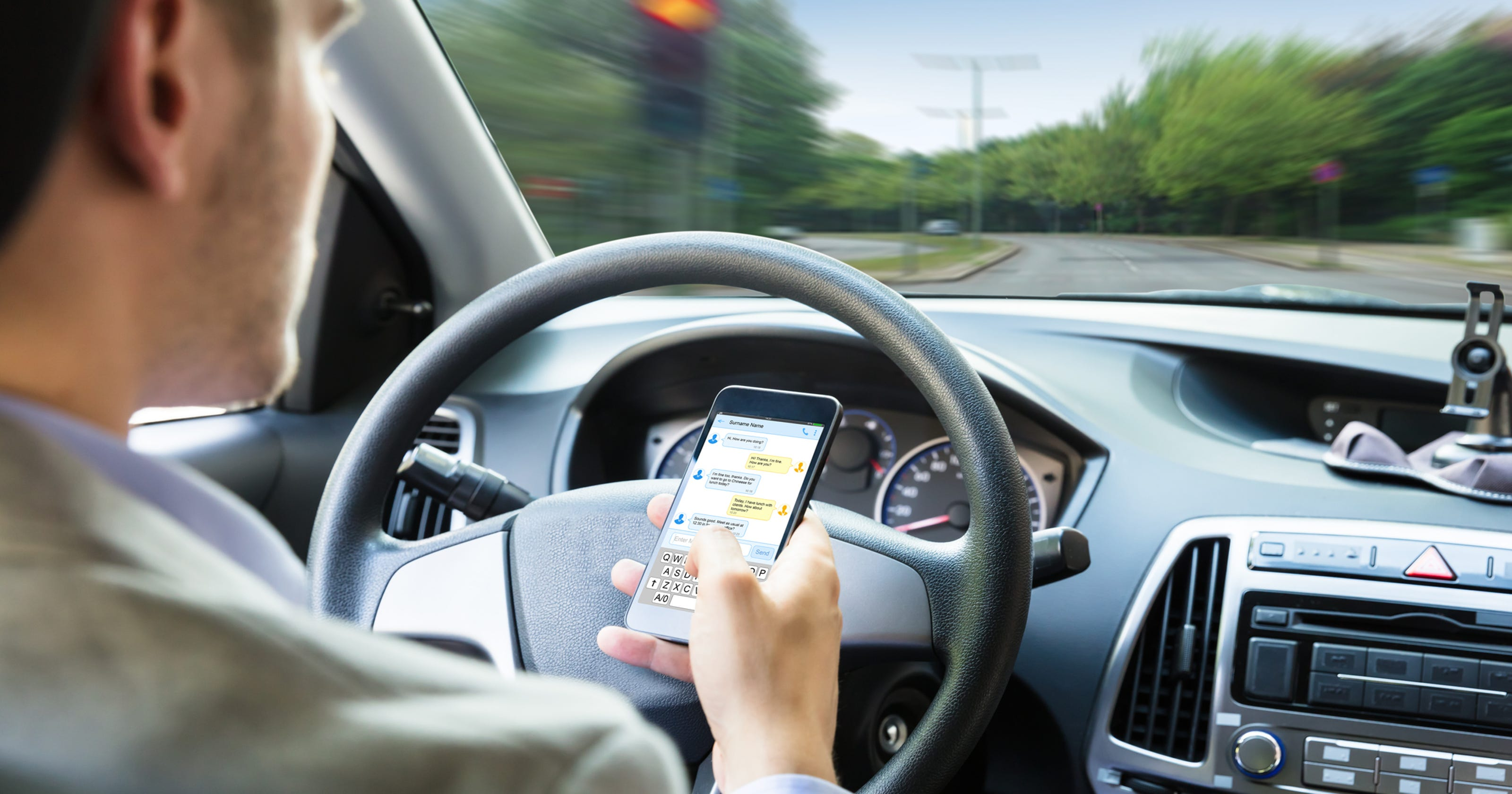 """Hands Free Law"": Distracted driving targeted by new ..."