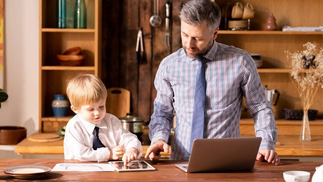 Let your children know finances are an adult issue.