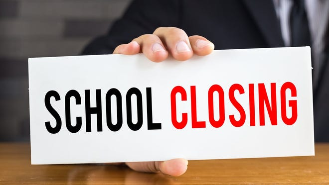 Arkansas' schools will close beginning Tuesday, with each district having the option of whether to close Monday or remain open.