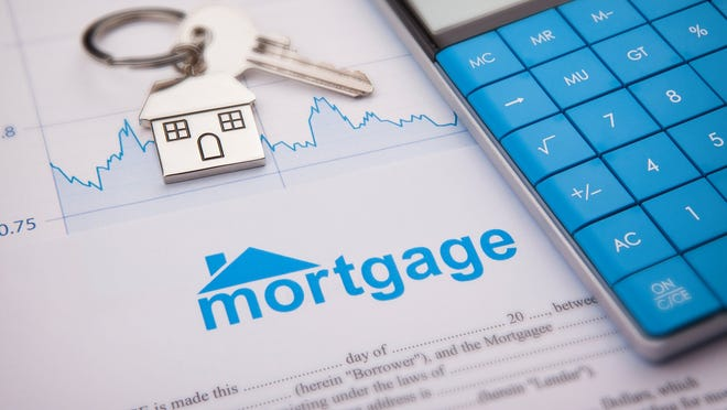 Picture of a mortgage