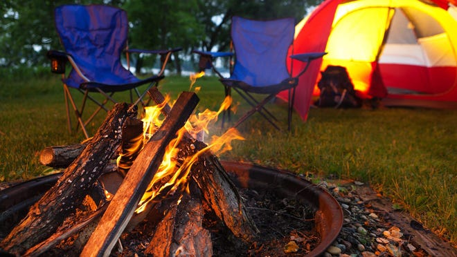 Campers can prepare for some outdoor fun.