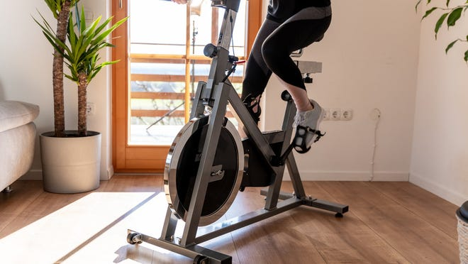 As little as 10 minutes of aerobic (or cardio) exercise a day, such as walking or cycling can improve health.