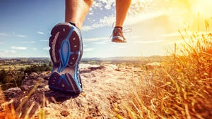 Running while listening to audiobooks can help keep you sane when the world around you might be heading in the other direction.