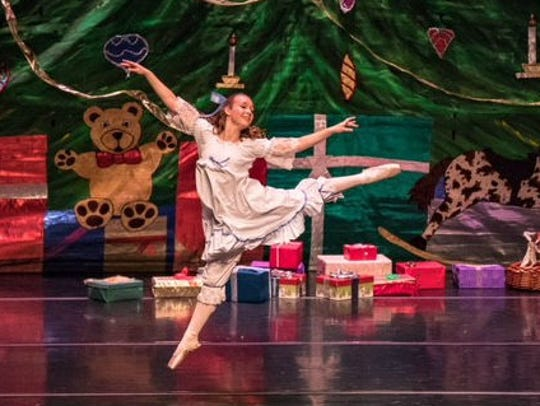 "Nikki Bouldin in ""The Nutcracker."""