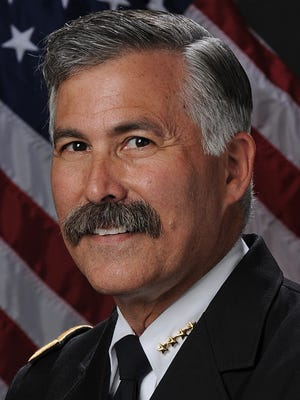 Scottsdale Chief of Police Alan Rodbell was named the first Arizona Police Chief of the Year.
