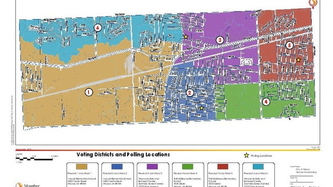Wayne residents will begin electing council members through a ward or district plan this year.