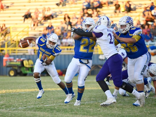 Reagan County quarterback Alex Chavez has engineered a pair of exciting comeback wins the last two weeks.