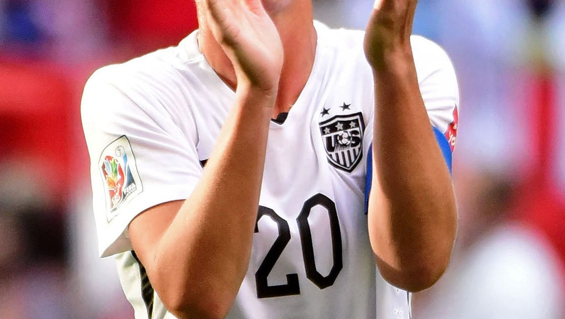 Abby Wambach Gets Away With Warning Over Referee Criticism