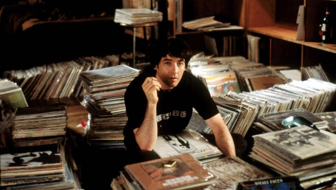 """John Cusack plays record shop owner Rob Gordon in """"High Fidelity."""""""