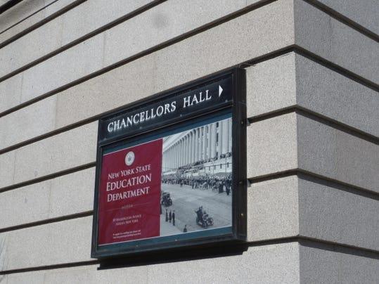 Education Building Sign Side