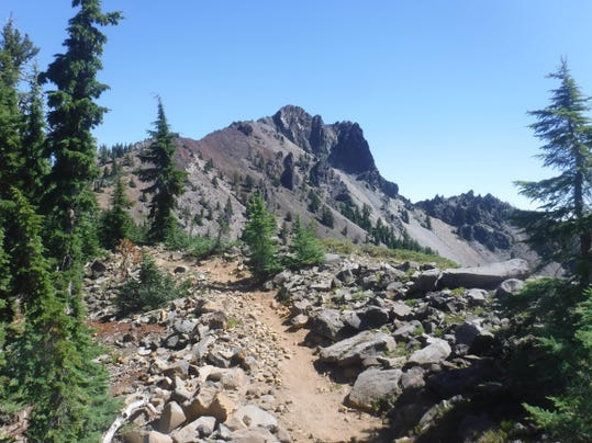 Cowhorn Mountain from Pacific Crest Trail 2