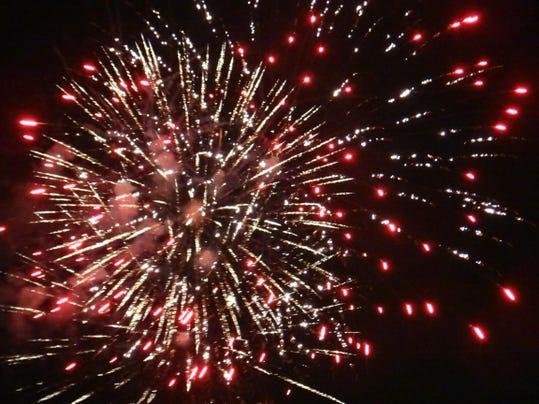 Fireworks On Marco Island