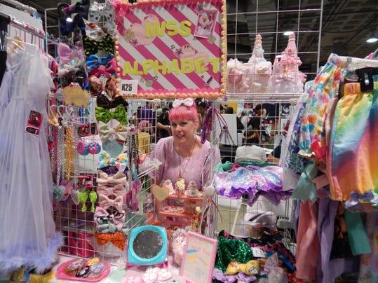 Visalia Clothing Designer Attends Anime Expo