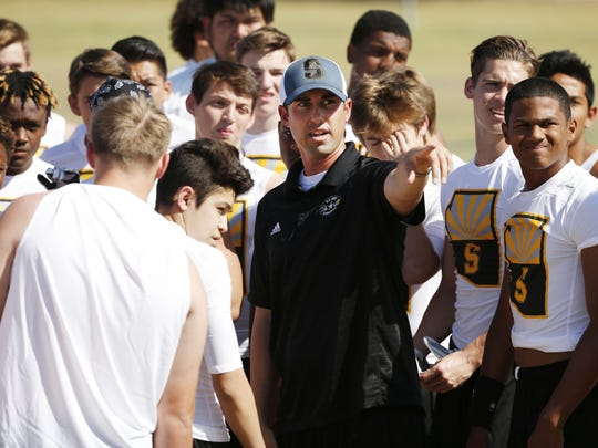 Scottsdale Saguaro head football coach Jason Mohns knows the business of players transferring for scholarship hopes, with eight transfers to Saguaro in the past year.