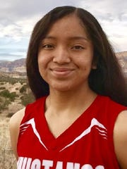 Alyssa Byjoe, from Kayenta Monument Valley, is the