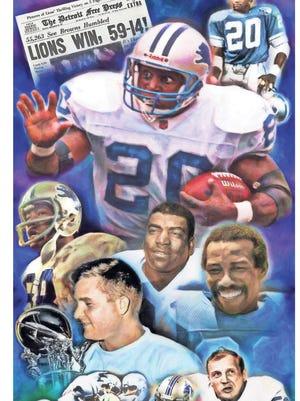Detroit Lions icons