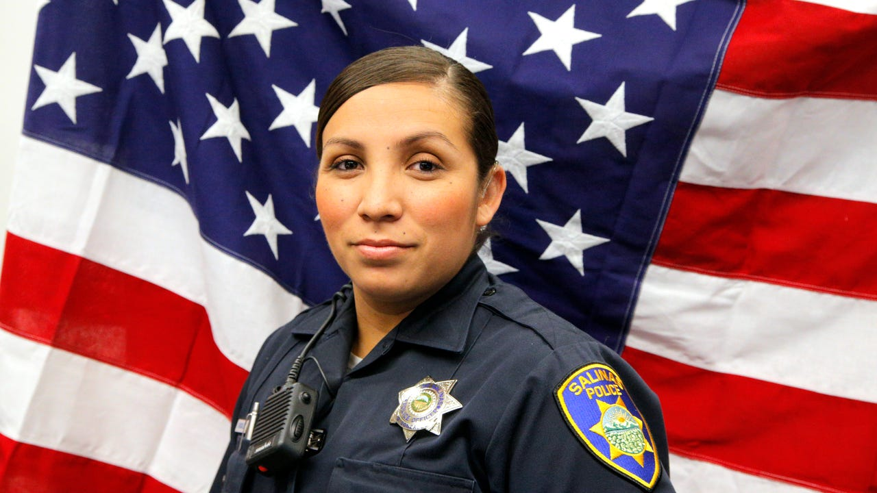 Salinas Police Officer Guadalupe Gonzalez