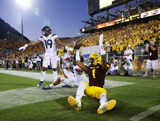 Arizona .vs Arizona State 2017