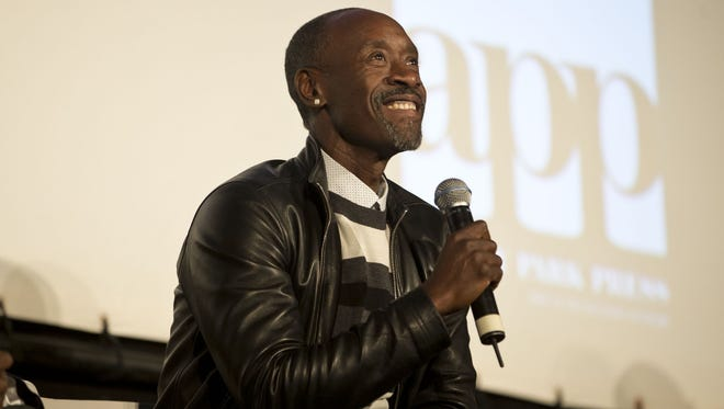 """Actor Don Cheadle, pictured in April at a screening of """"Miles Ahead"""" at the Asbury Park Music in Film Festival at the Paramount Theatre."""
