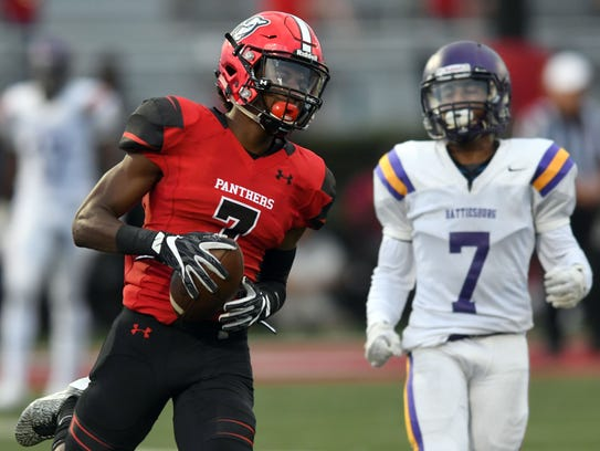 Petal receiver Natorian Watts earned a spot on the
