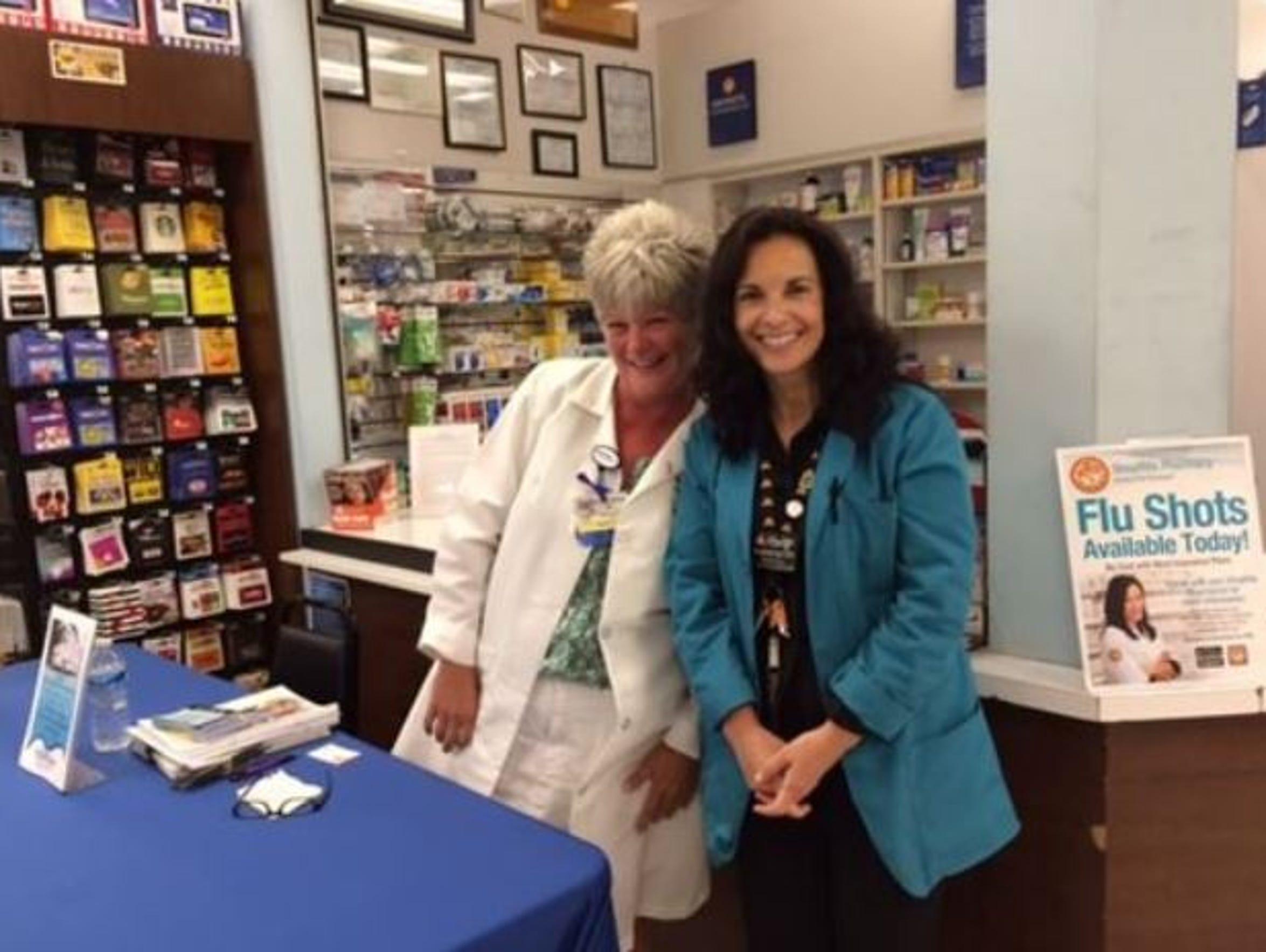 Community Health Services staff provides flu shots