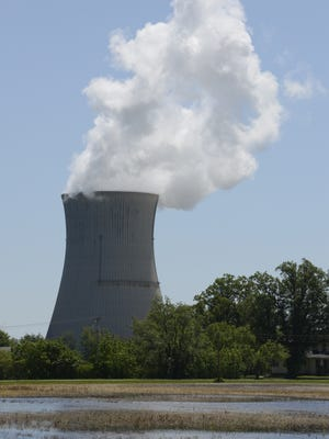 A coalition of Ottawa County elected leaders, economic development personnel, educators and labor workers support FirstEnergy's Electric Rate Plan in order to keep Davis-Besse Nuclear Power Station in Carroll Township operating.