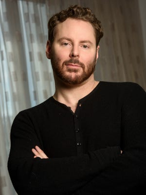 Sean Parker, who founded Napster and was the first president of Facebook, is taking on cancer immunotherapy now. He was photographed at the Four Seasons in Georgetown, Washington, D.C.