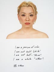 "Kip Fulbeck's ""Hapa"" exhibit at MSU features photographs of individuals with biological parents from the Pacific Rim or of an Asian background mixed with some other ethnic background."