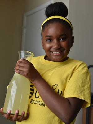 Challenged by her father to create a business by the age of 10, Kinyah Braddock, 8, of Flowood used her drive and entrepreneurship to start  B Chill Lemonade business.