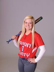 Kristin Klein, Union County softball