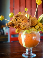 Party Fowl's Brunch for Two is a 55-ounce bloody mary