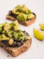 Vegetalien's avocado toast.