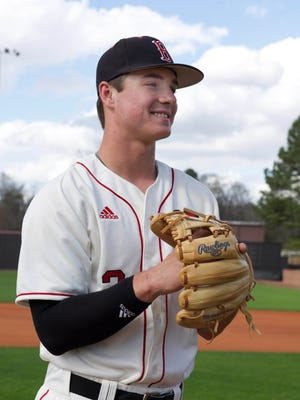 J.T. Ginn, a senior out of Brandon High School, was 2017's Clarion Ledger Player of the Year and went 5-1 on the mound with 69 strikeouts in 39.1 innings last year.